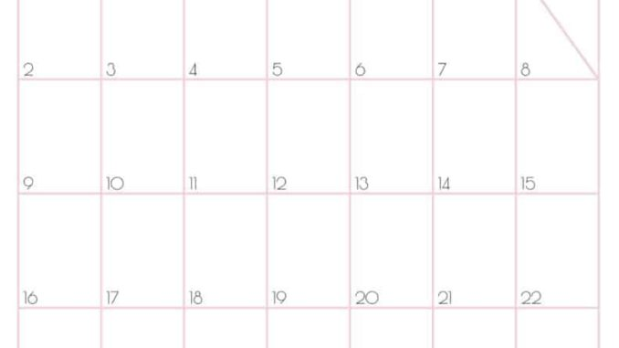 May 2021 Wall Calendar