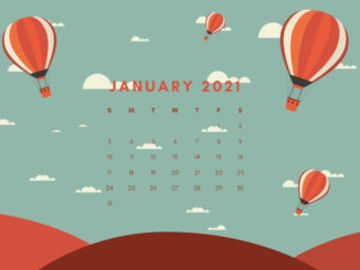 January 2021 Calendar Wallpaper For Laptop