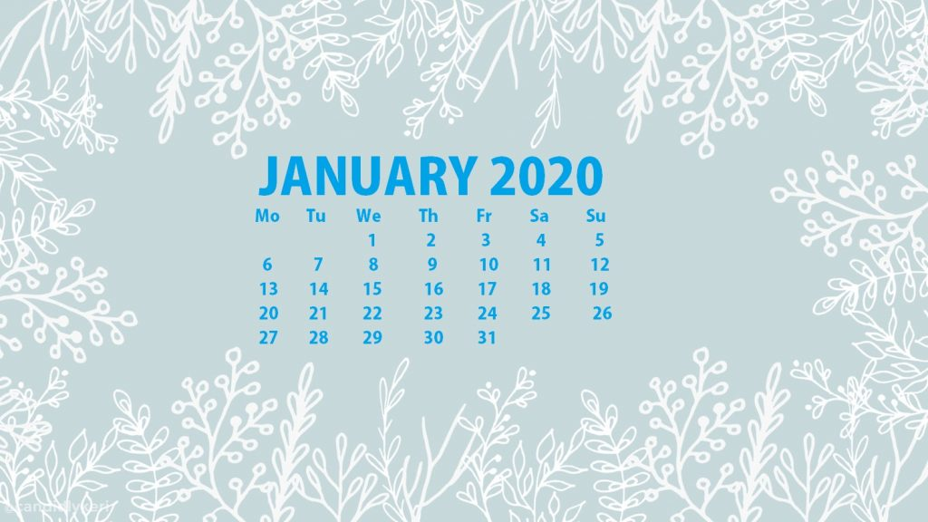 Beautiful January 2020 Wallpaper