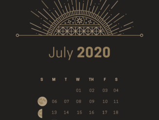 Moon Phases of July 2020 Dates